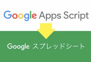 GoogleAppScriptからスプレッドシートを操作